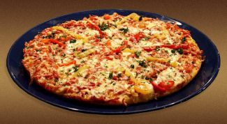 Как испечь пиццу дома