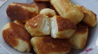 Пирожки с творожно-ананасовой начинкой