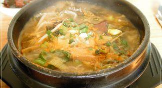 Корейское блюдо сапсо