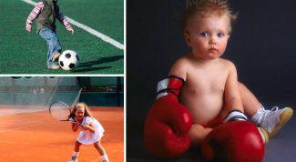 Спорт для ребенка. Как сделать правильный выбор