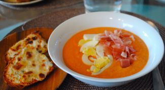 """Испанский холодный суп """"Сальморехо"""""""