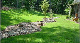 Как обустроить ландшафт, если земельный участок на склоне