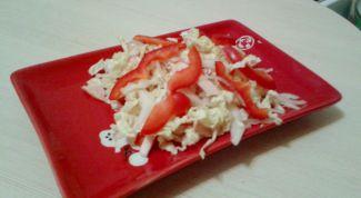 """Как приготовить легкий салат """"Пекин"""""""