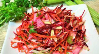 """Как приготовить детокс-салат """"Щетка"""" для похудания"""