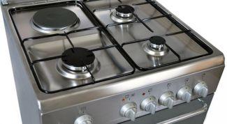 Правила безопасности при пользовании газовой плитой