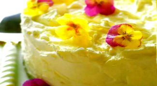 Как сделать торт «Ванильные облака»