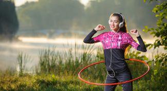 Как похудеть с помощью обруча