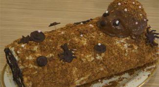Как приготовить торт «Полено»