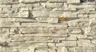 Искусственный камень для облицовки стен - особенности, монтаж, советы