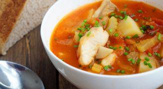 Как приготовить итальянский суп с рыбой