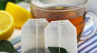 Вредно ли пить чай из пакетиков