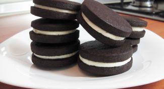 Как приготовить домашнее печенье орео