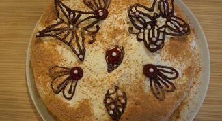 Как приготовить торт «Вишня под снегом»