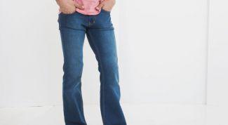 Какие бывают мужские джинсы клеш