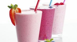 Как приготовить молочные коктейли для вечеринки