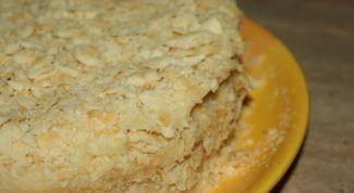 Как приготовить торт «Наполеон» без яиц и молочных продуктов