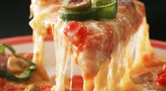 Как быстро приготовить домашнюю пиццу