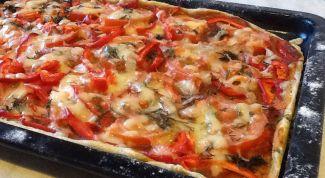 Как сделать вкусную вегетарианскую пиццу