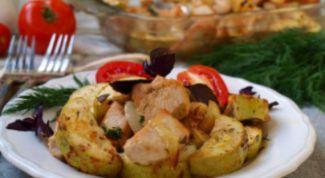 Как приготовить индейку с кабачками в духовке