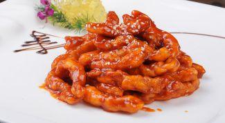 Как быстро приготовить курицу в кисло-сладком соусе