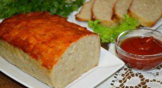 Как приготовить мясной хлеб
