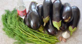 Как приготовить салат из баклажанов «Грибочки»