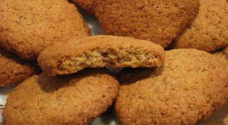 Как испечь воздушное, мягкое овсяное печенье