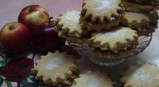 Как испечь песочное печенье со сгущенкой