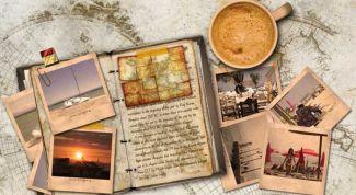 Что такое дневник путешественника и зачем его ведут