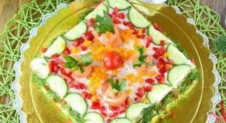 Как приготовить бутербродный торт «Праздничный»