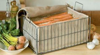 Как лучше сохранить морковь зимой