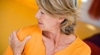 Как снять боль в плече народными средствами