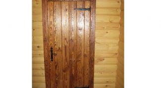 Как сделать из дерева входную дверь