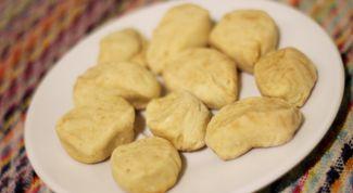 Как приготовить монгольское печенье борцог