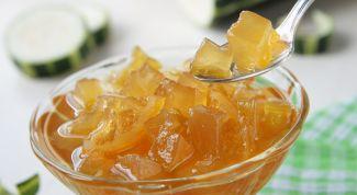 Как приготовить вкусное варенье из кабачков с лимоном