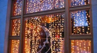 Несколько идей новогодних украшений на окна