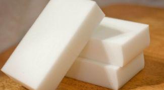 Где и как использовать меламиновую губку