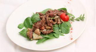 Как приготовить салат с говядиной и фасолью