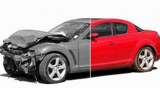 Как определить битый автомобиль