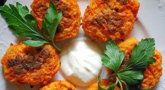 Как приготовить морковные котлеты: рецепт