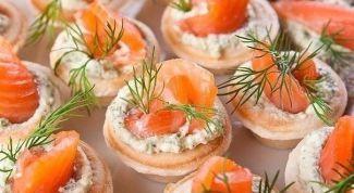 Как приготовить тарталетки с сыром и чесноком на Новый год