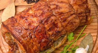 Как приготовить рулет из свиной рульки для праздничного стола