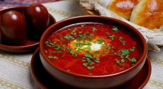 Как приготовить борщ с болгарским перцем: пошаговый рецепт