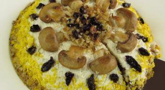 Как приготовить вкусный салат из курицы с черносливом:  пошаговый рецепт
