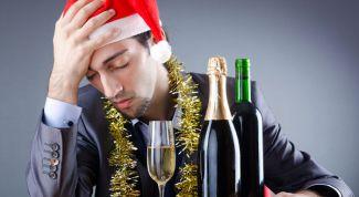Как не уйти в запой на Новый год?