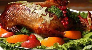 Как запечь гуся с гречкой и печенью в духовке