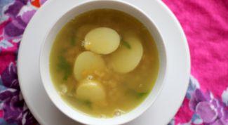 Как приготовить сытный постный суп из чечевицы