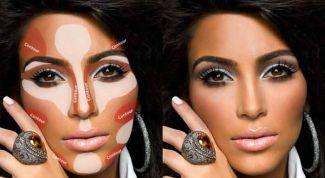 Как моделировать лицо макияжем