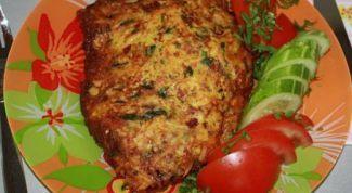 Как приготовить нежную курицу с сыром в картофельной корочке