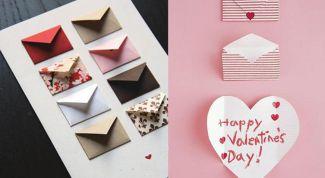 Как сделать открытку с пожеланиями для любимого